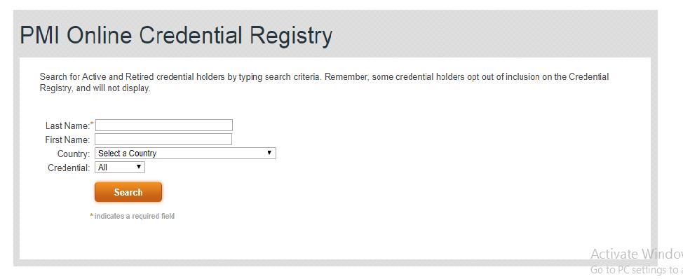 pmp registry